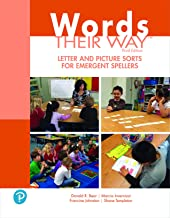 Words Their Way Letter and Picture Sorts for Emergent Spellers (2-downloads) (What's New in Literacy)