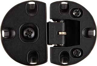 Sugatsune SDH-001/BLK Zinc Alloy Adjustable Type Drop Lid Hinge, Black Finish, 38mm Height