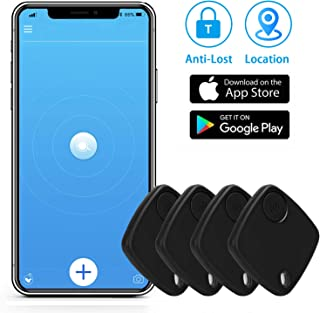 $46 » Key Finder Bluetooth Tracker with App for Phones - Key Finder Locator for Bag Luggage Keychain Purse - Anything Item Track...
