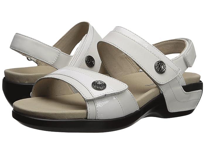 Aravon  Katherine-AR (White) Womens Sandals