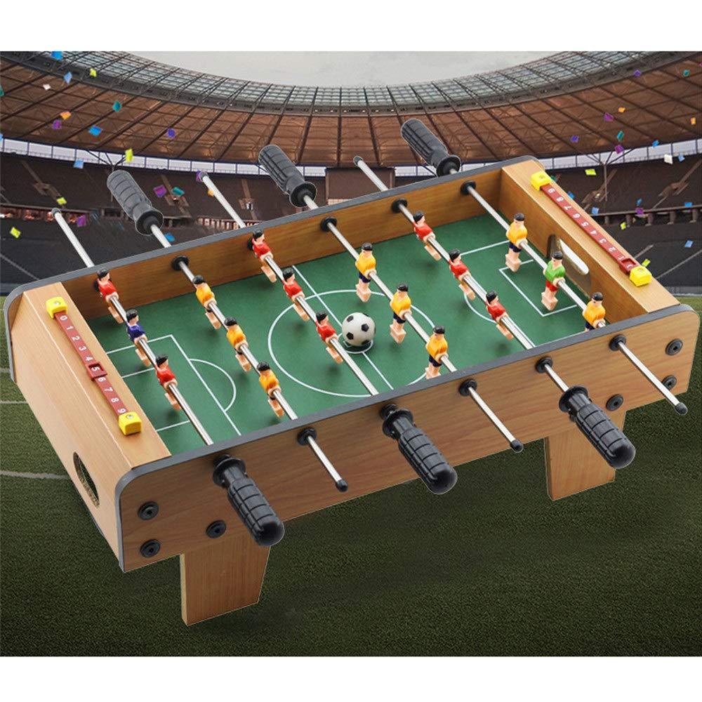 Mesa de juego combinada Foosball Soccer Competition Juego de mesa Conjunto de juegos en la sala de juegos Deportes con manijas ergonómicas Puntaje analógico y niveladores de pierna Equipo de juegos de: