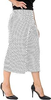Momo&Ayat Fashions Ladies Polka Dot 3/4 Cropped Culotte Wide Leg Short Trousers Pants AUS Size 8-26