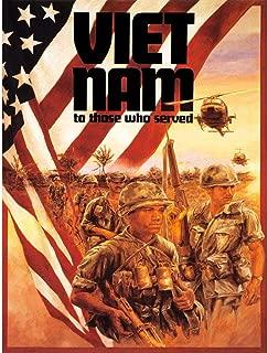 Wee Blue Coo Paintings Portrait Vietnam War Veteran Flag Soldier Gun Military Unframed Wall Art Print Poster Home Decor Premium