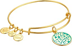 Alex and Ani - Words are Powerful Love Peace Joy Bangle