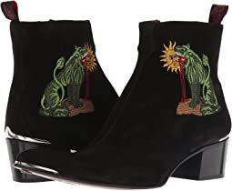 Sylvian Chimera Embroidered Zip Boot