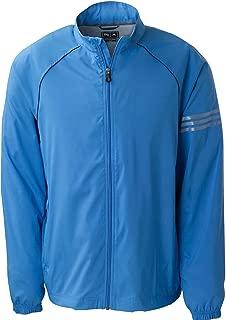 Golf A69 ClimaProof Mens 3-Stripes Full-Zip Jacket - True Blue/Blk/Sterling - Medium
