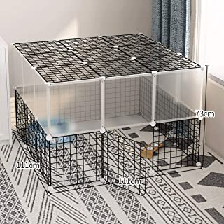 AIAIⓇ Small Animals Playpen Cage Kennel for Dog, cat Bunny Guinea Pig Rabbit Puppy, Indoor & Outdoor