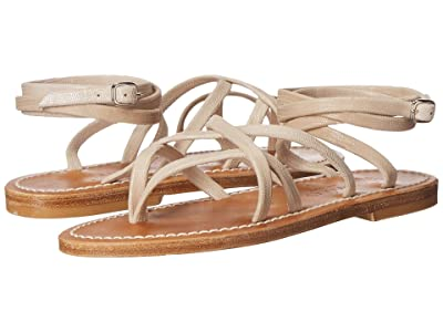 K.Jacques Zenobie Velours Sandal (Tejus Sable) Women