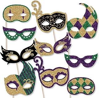 Best mardi gras masks on a stick Reviews