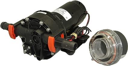 Johnson Pumps 10-13252-103-BW 4.0 GPM Baitwell Pump, 12V