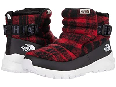 The North Face Thermoball Pull-On Plaid (TNF Black/TNF Red Plaid (Wool)) Women
