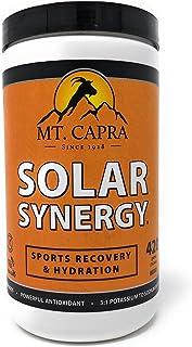 MT. CAPRA SINCE 1928 Solar Synergy | Electrolyte Powder, Sports Recovery Hydration Powder, Boost Athletic Performance, Com...