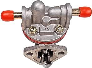 Weelparz Fuel Lift Pump 15821-52030 1G961-52030 for Grasshopper 721D 721D2 721DT2 322D Kubota Engine D905 D1005 D1105 RTV900G RTV900R6 V1305 V1505 D1403 D1703 V2003-T F2803-BG WG600 WG752 WG750