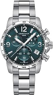 Certina DS Podium Chronograph Green Dial Mens Watch C034.417.11.097.00
