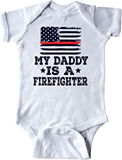 Fireman Daddy is a Firefighter Infant Creeper