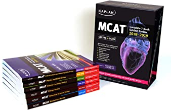 MCAT Complete 7-Book Subject Review 2018-2019: Online + Book (Kaplan Test Prep)