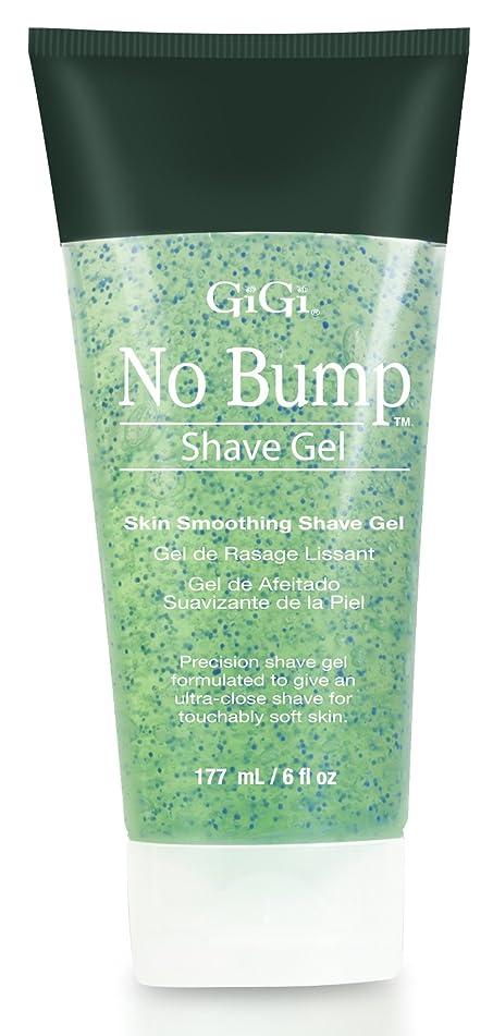 GiGi No Bump Skin Smoothing Shave Gel with Salicylic Acid and Chamomile Extract, 6 oz