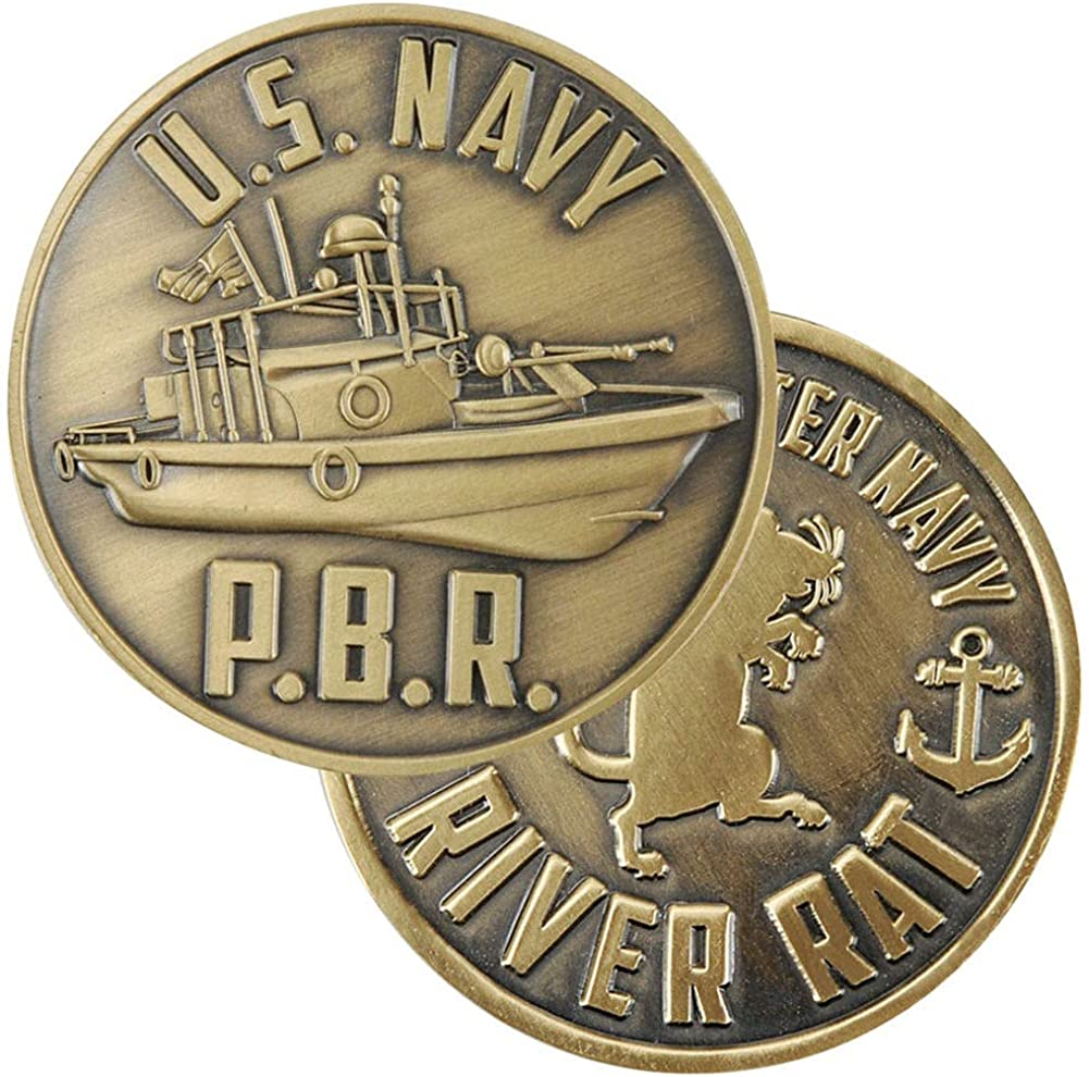 US Navy PBR Coin Fashionable Max 60% OFF Challenge