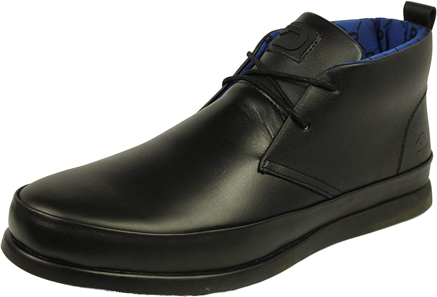 Nicholas Deakins Mens Leather shoes Rufus Black Designer Smart Formal Boots