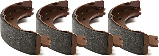 For 2000-2005 Toyota Echo R1 Concepts Pro Fit Brake Shoes Rear