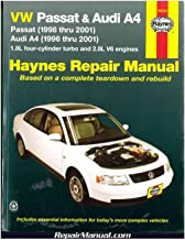 NOS-H96023 Haynes VW Passat Audi A4 1996-2001 Auto Repair Manual
