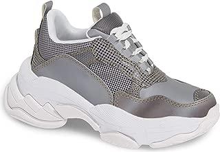 Lo-Fi Sneaker, Grey Reflective Combo Fabric