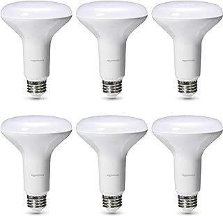 AmazonBasics Commercial Grade LED Light Bulb   65-Watt Equivalent, BR30, Daylight, Dimmable, 6-Pack