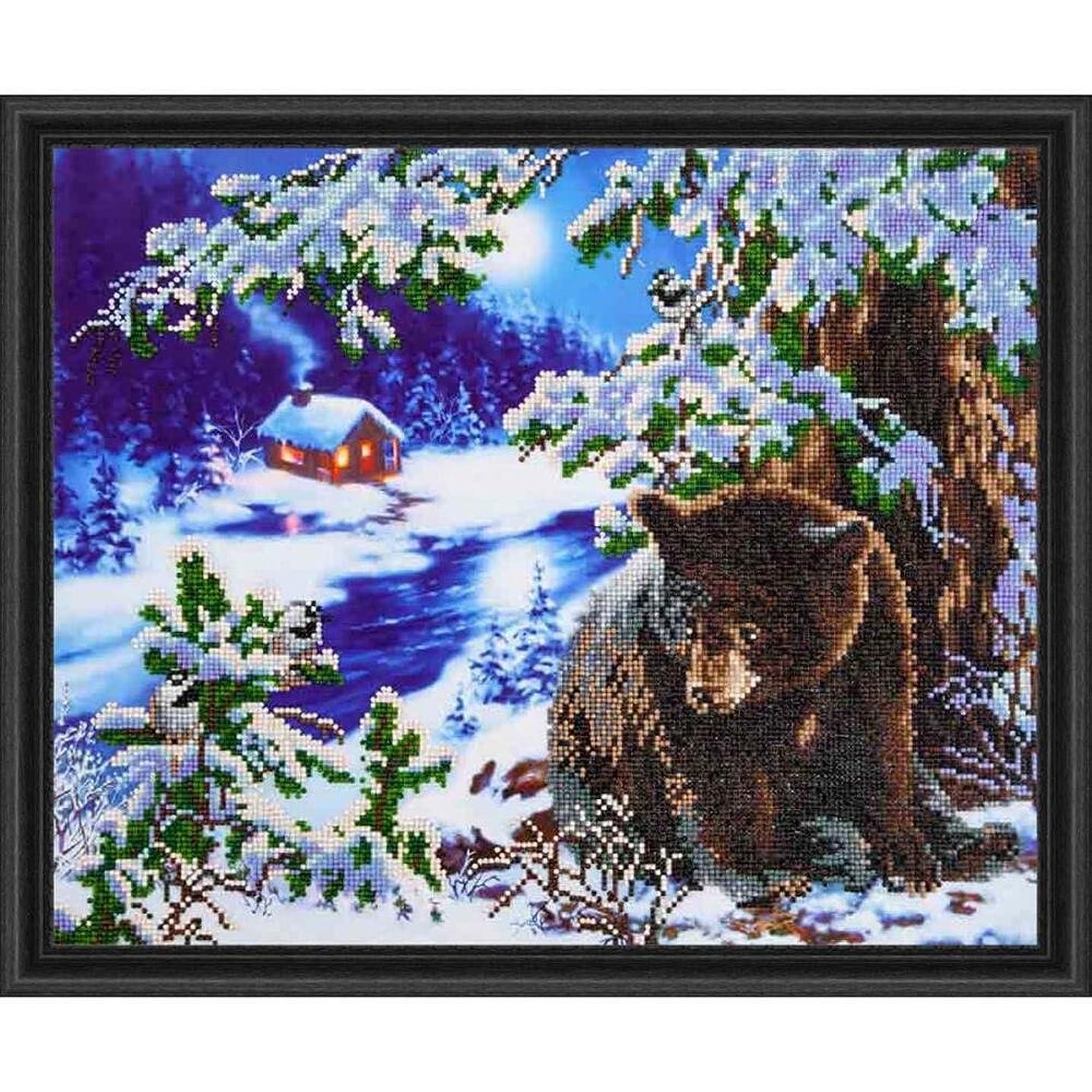 Needleart World Rambling Bear Diamond Embroidery Kit