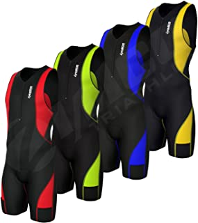 Zimco Pro Compressio​n Triathlon Suit Racing Tri Skin Suit Cycling Swim Run