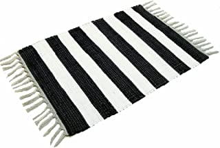 Best large blue and white striped rug Reviews