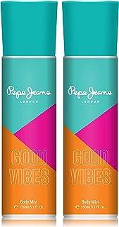 Pepe Jeans London Good Vibes Women Body Mist 150ml (Pack Of 2)