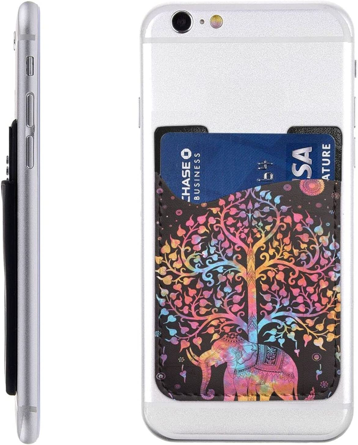Tree of Life and Tie Dye Phone Card Elephant Bombing free shipping S Cell Holder supreme