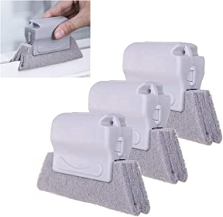 3PCS Magic Window Cleaning Brush,Household Cleaning Tools,Cleaning Brushes for Blind, Baseboard, Window or Sliding Door Tr...
