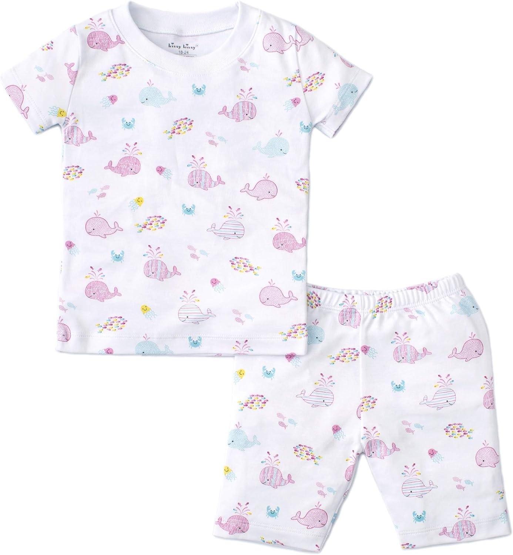 Kissy Kissy Baby-Boys Infant Whales Print Short Pajamas Set