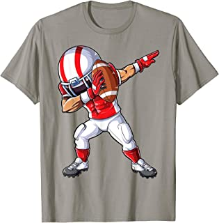 Dabbing Football T shirt Kids Boys Men Dab Dance Funny Gifts