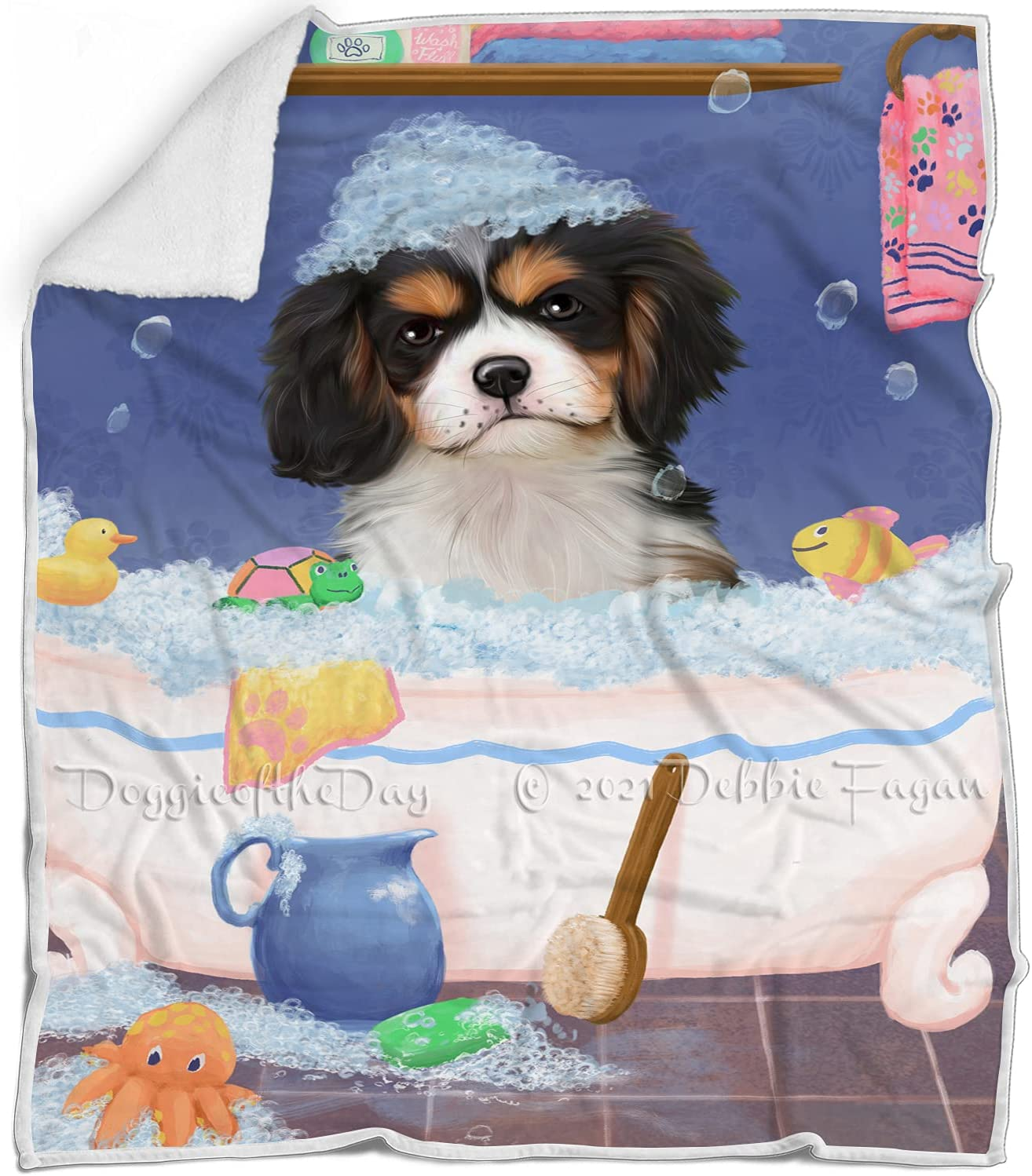 Doggie of the Day Rub A Dub Tub Charles S in King Cavalier Be super welcome Dog 67% OFF of fixed price