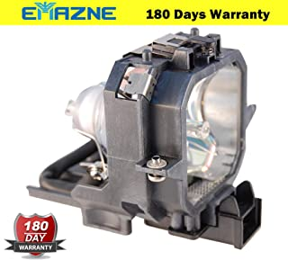 Emazne ELPLP27/V13H010L27 Projector Replacement Compatible Lamp with Housing for Epson EMP 54 Epson EMP 74 Epson EMP 74L Epson PowerLite 54c Epson EMP 54c Epson V11H137020 Epson EMP 74c Epson EMP 75