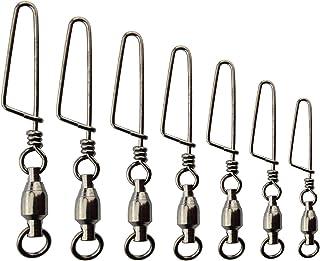 30個 高强度 不锈钢 回流器 耐腐蚀 海钓 钓鱼工具 鱼饵 Snap 滚珠轴承 球轴承 垂钓 钓竿