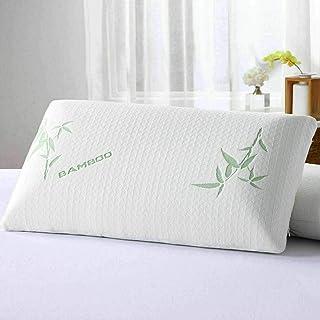 Almohada de bambú True Face de espuma viscoelástica ortopédica de alta calidad, apoyo antibacteriano firme