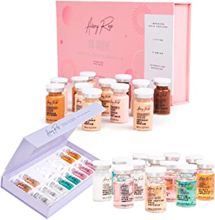 Avery Rose BB Glow Serum 12 vials with Serum treatment kit 12 vials of different serums Perfect face care starter kit (BB GLOW+SERUM)