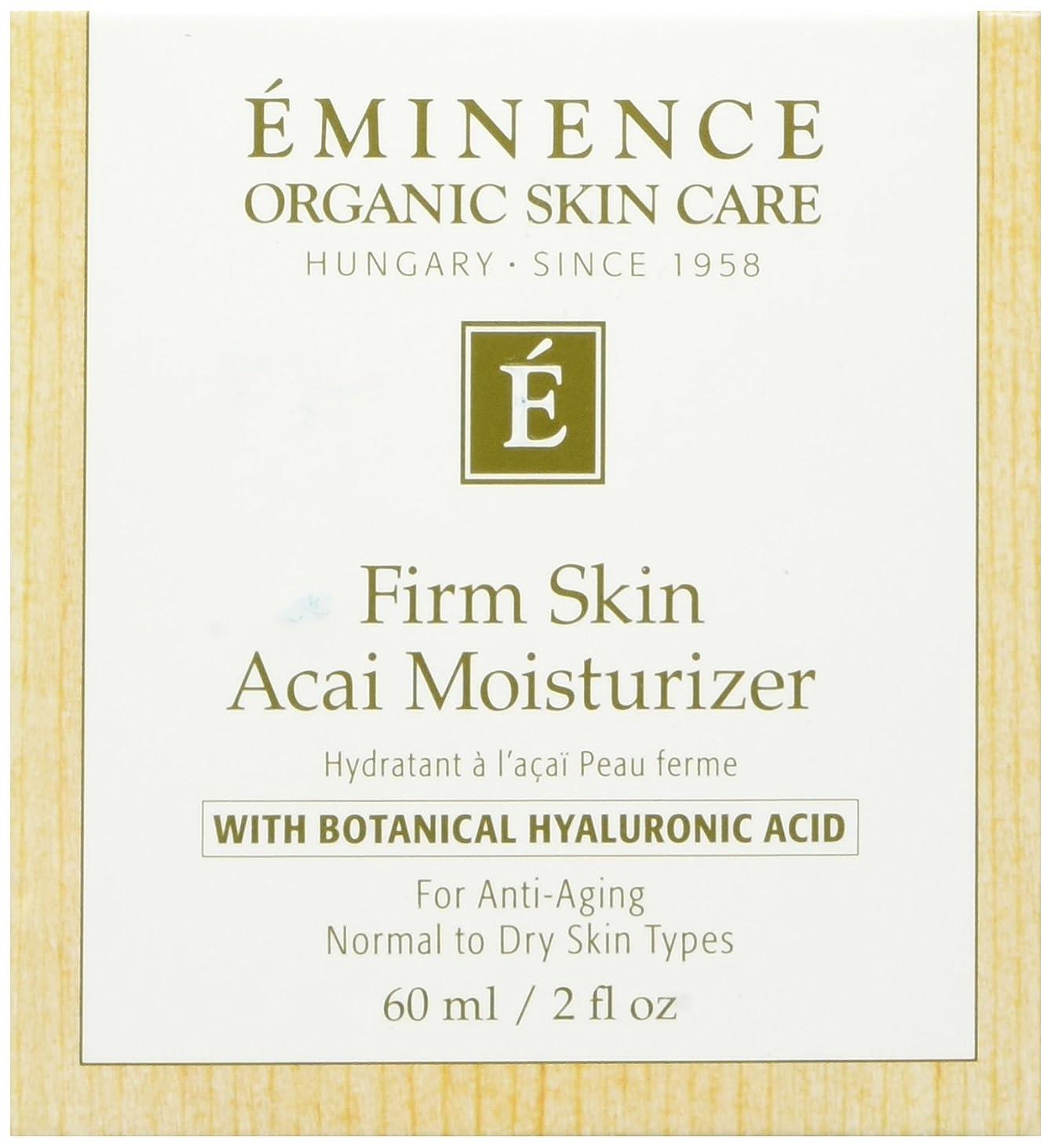第ズーム病気エミネンス事務所スキンアサイモイスチャライザー2オンスフレッシュ | Eminence Firm Skin Acai Moisturizer 2 oz Fresh