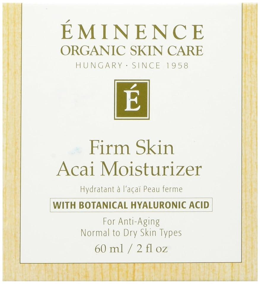 見える受動的教育者エミネンス事務所スキンアサイモイスチャライザー2オンスフレッシュ   Eminence Firm Skin Acai Moisturizer 2 oz Fresh