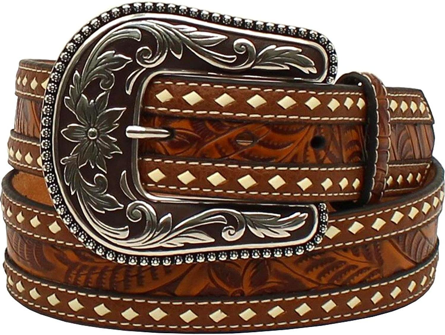 Blazin Roxx Preston Buckstitch Belt