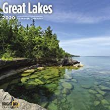 National Parks 2020 Great Lakes Wall Calendar by Bright Day Calendar 16 Month Wall Calendar 12 x 12 inches