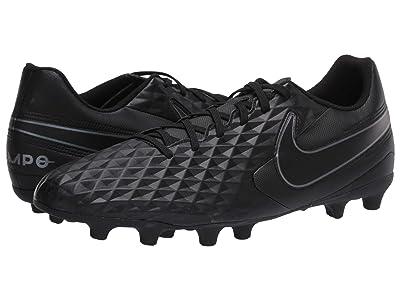 Nike Tiempo Legend 8 Club FG/MG (Black/Black) Cleated Shoes