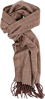 Runtlly Men's Winter Scarf Soft Classic Cashmere Feel Scarves Unisex
