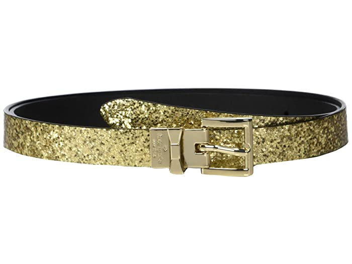 Kate Spade New York 19 mm. 3/4 Reversible Belt (Gold/Black) Women