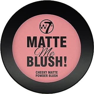 W7- Matte Me Blush (24) - On The Edge