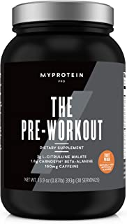 Pre Workout with Creatine Mono-Hydrate and Caffeine - 30 Servings - Plus L-Glutamine, BioPerine, AstraGin, Capsimax, TeaCr...