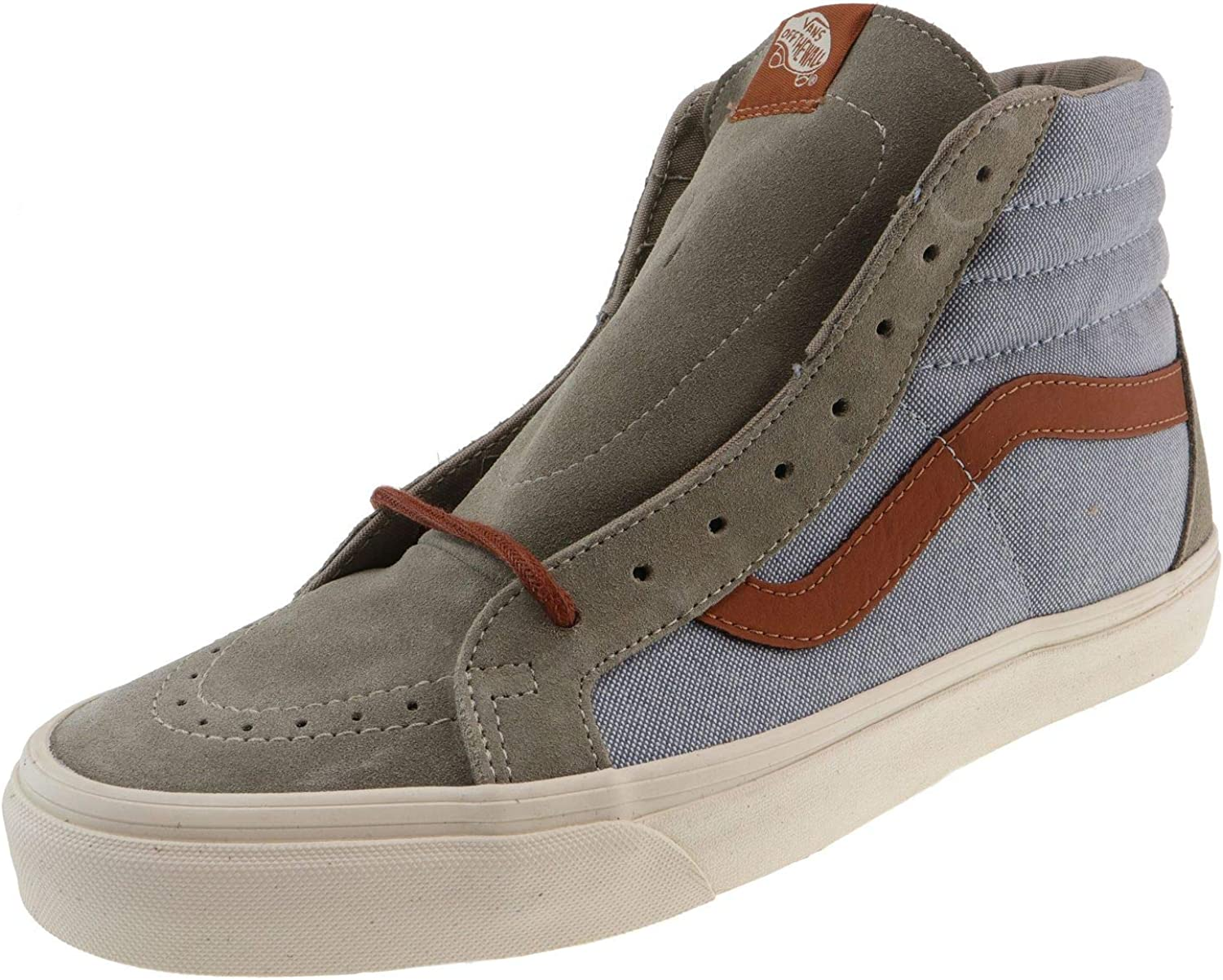 Vans Girl Active SK8-Hi Reissue Brushed Blau Mirage Desert Taupe Girl Active VA2Z5ZK78